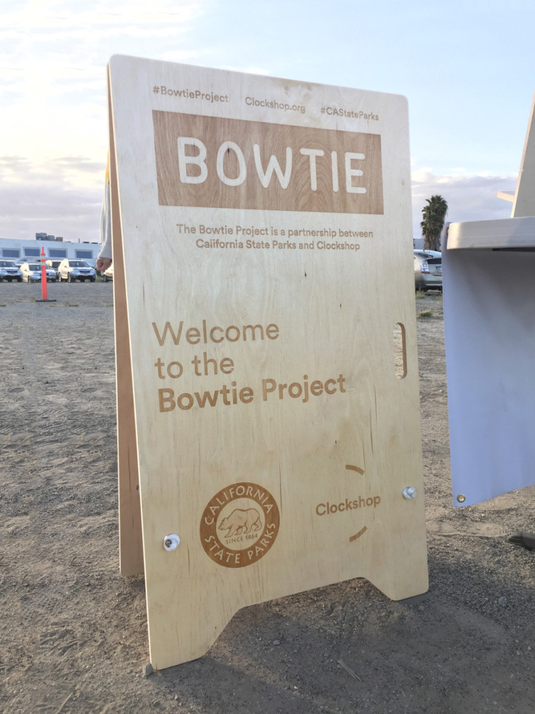 Tom Kracauer Bowtie Project Signage